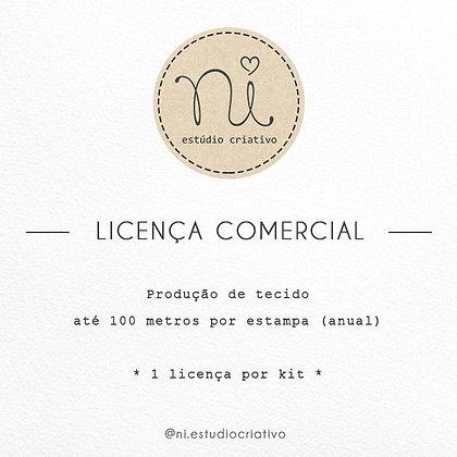 Licença de Uso - Produção de tecido (até 100mts)