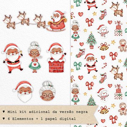 Mini Kit Digital Doce Natal | Versão Negra