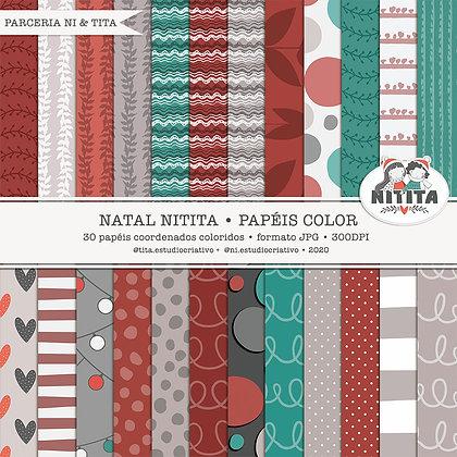 Natal Nitita - Papéis color