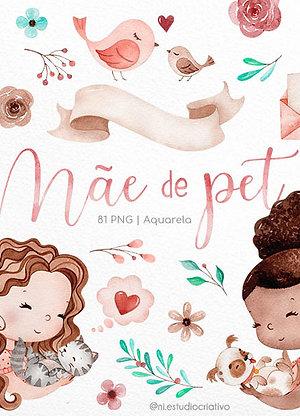 Kit Digital Mãe de Pet