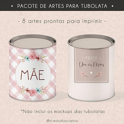 Printables de dia das mães | Rótulos para Tubolatas 01