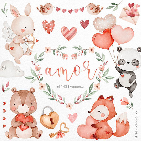 Kit Digital Com Amor