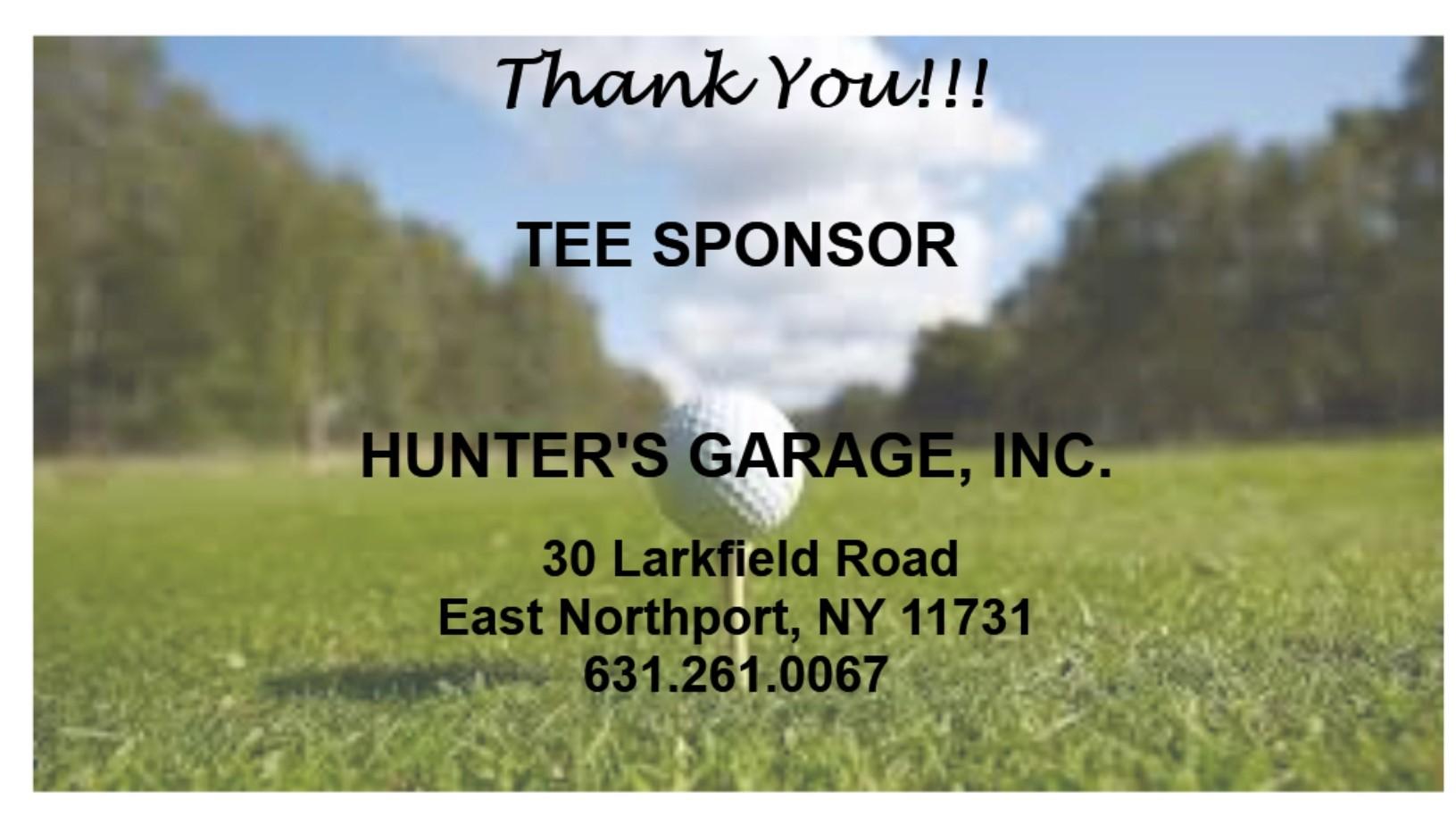 Hunter's Garage, Inc.
