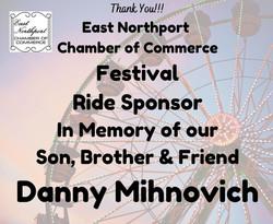 Danny Mihnovich Memory