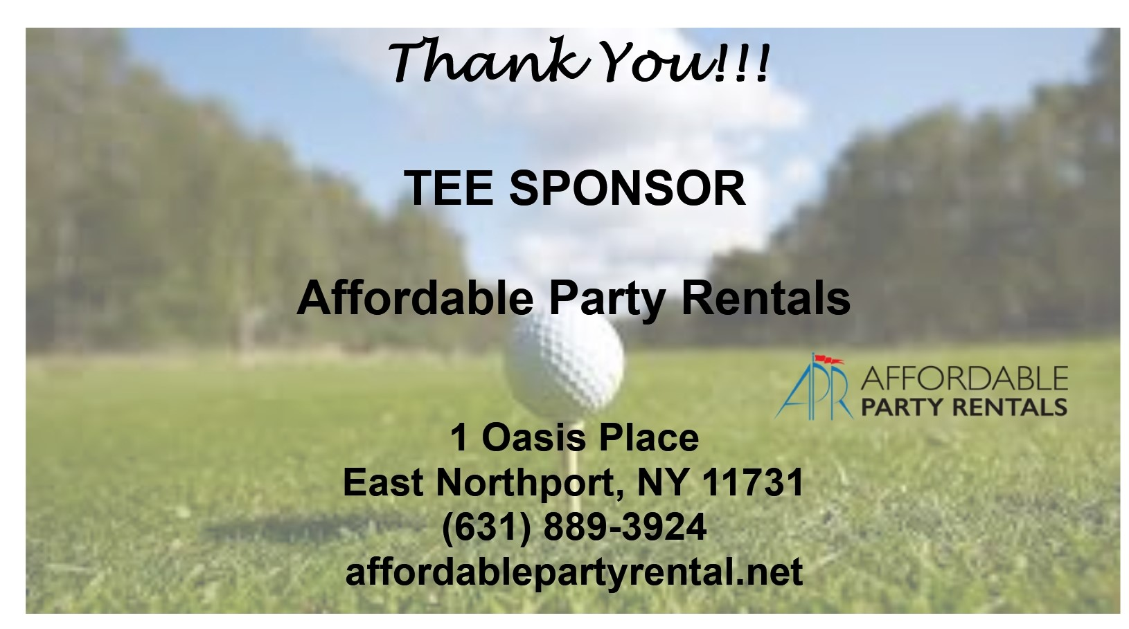 Affordable Party Rentals