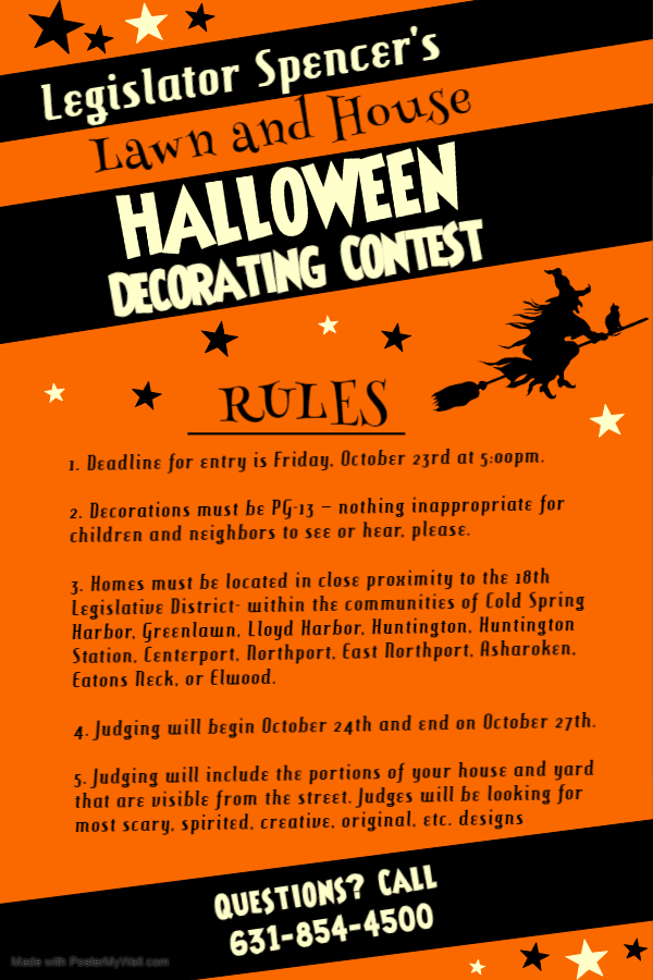 Halloween Decorating Contest Rules