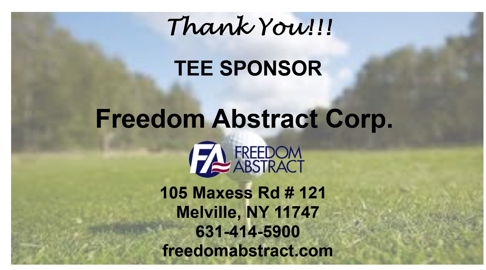 Freedom Abstract Corp.