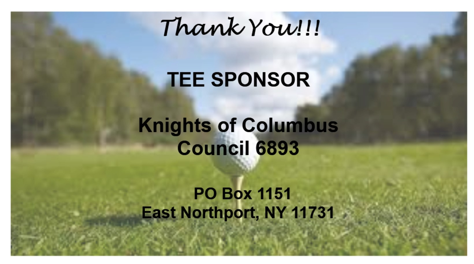 Knights of Columbus Council 6893