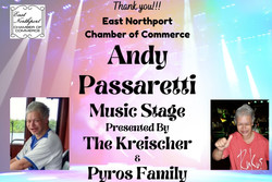Andy Passaretti Music Stage