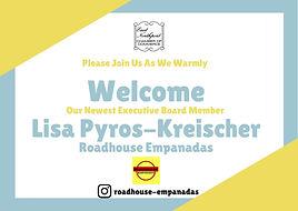 Lisa Board Member Welcome.jpg