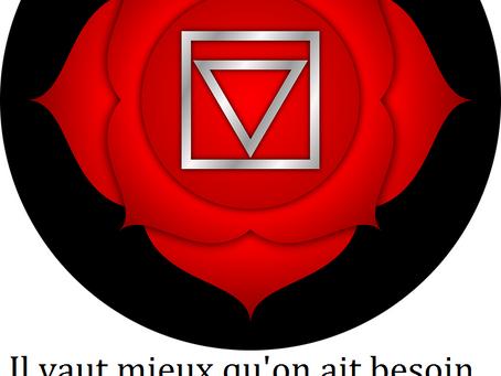 """100% Chakras : Chakra Racine ou """"Comment Ancrer Toutes nos Envies dans la Matière ?"""" En 7 Conseils"""