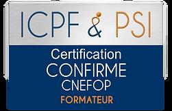 Logo ICPF & PSI Confirme CNEFOP Formateu