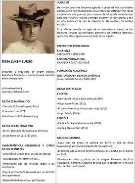 CV Rosa de Luxemburgo