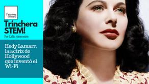 Hedy Lamarr, la actriz de Hollywood que inventó el Wi-Fi
