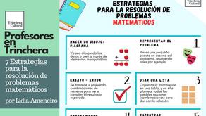 7 Estrategias para la resolución de problemas matemáticos