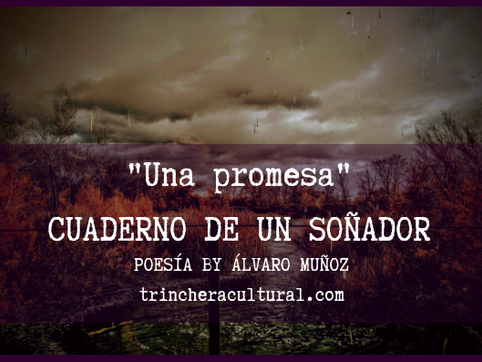 Una promesa (poesía by Álvaro Muñoz)