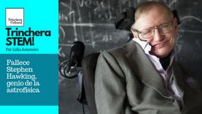 Fallece Stephen Hawking, genio de la astrofísica