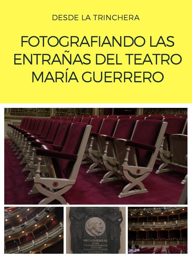 Fotografiando las entrañas del Teatro María Guerrero