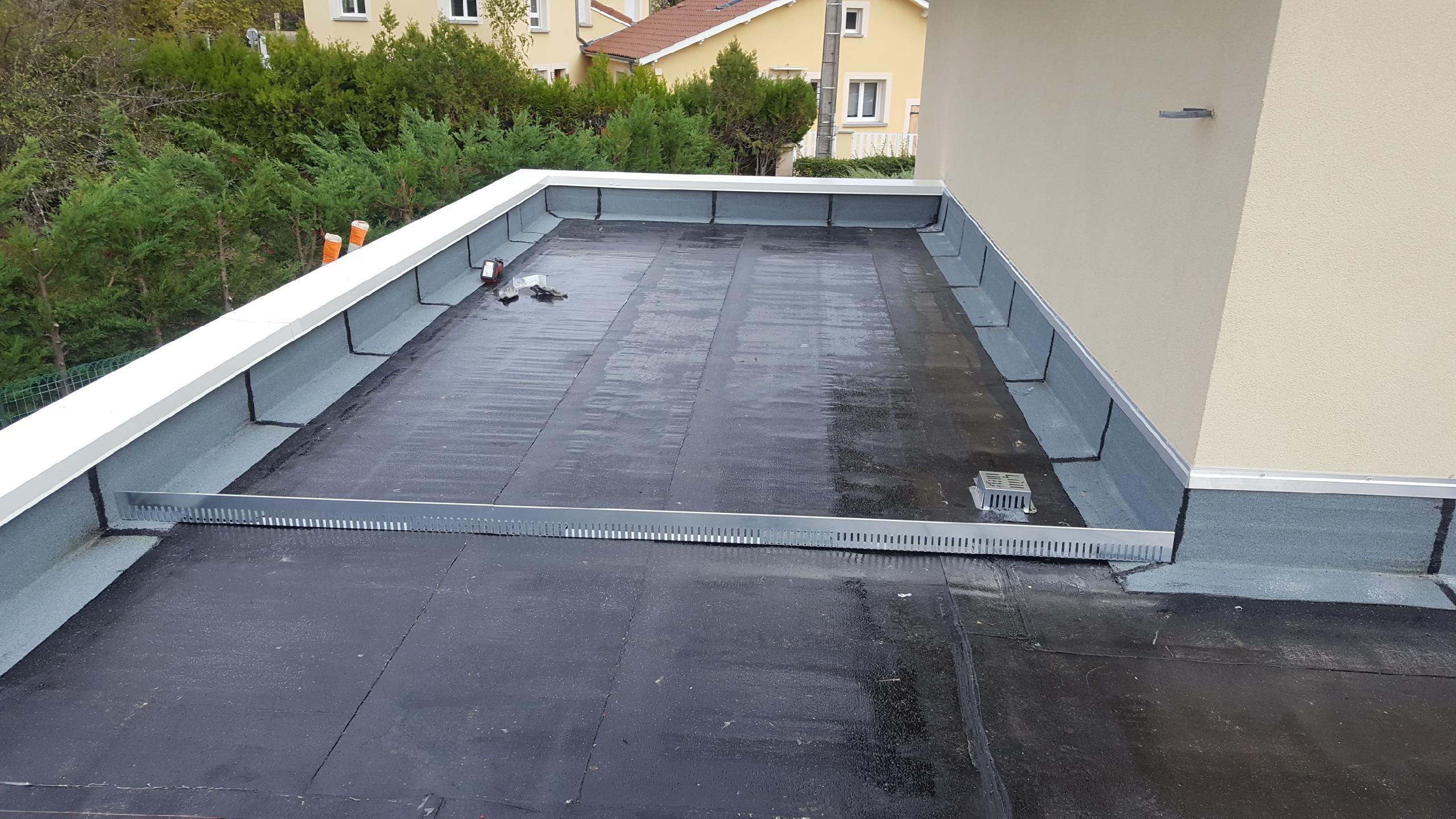 etancheite toiture terrasse