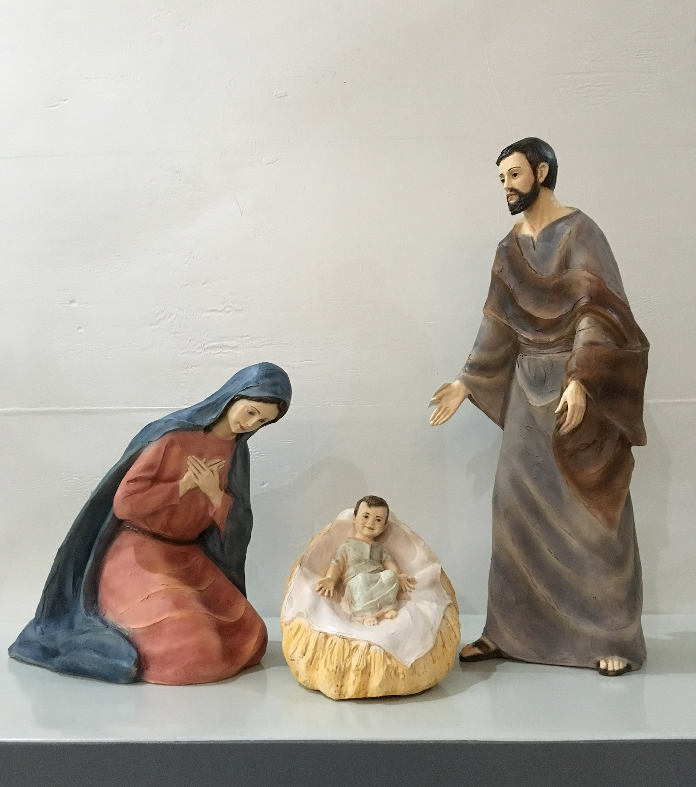 3 Pcs Nativity Set