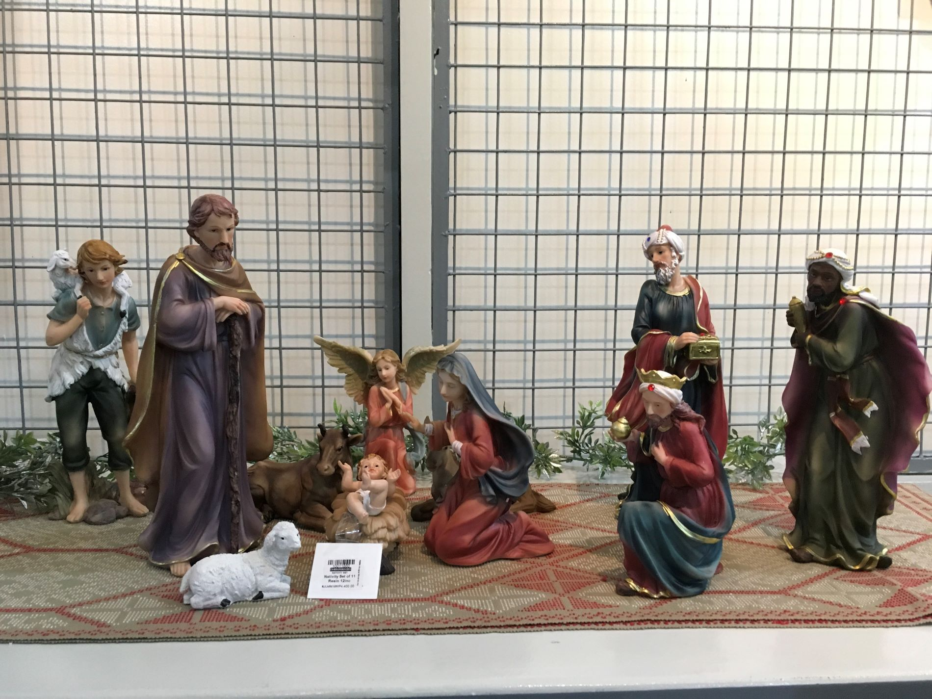 10 Pcs Nativity Set