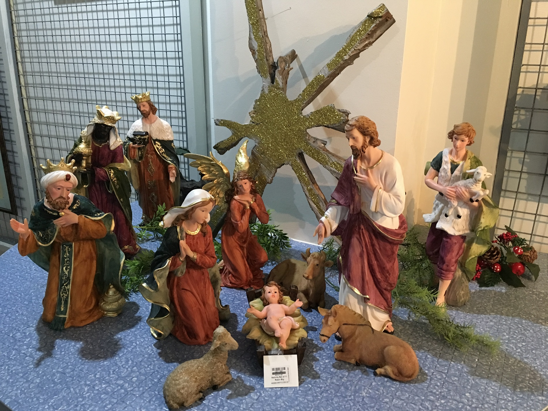 11 pcs Nativity Set
