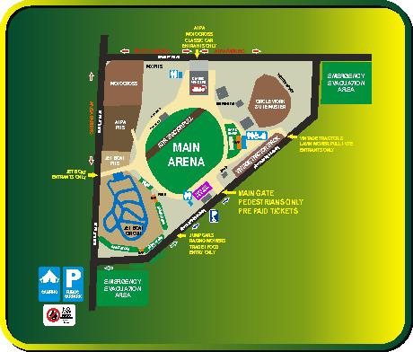 diesel an dirt derby site map