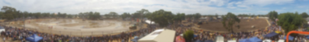 diesel and dirt derby panoramic view