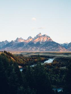 Sunrise over the Snake, Wyoming
