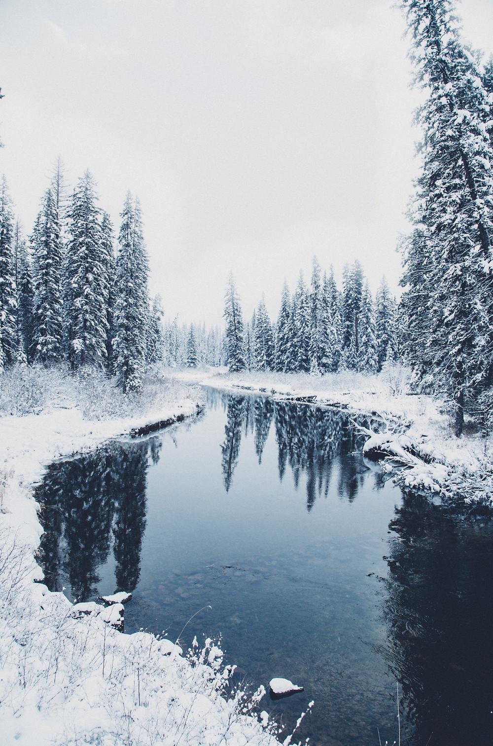 Swan River Winter, Montana |  Montana Adventure Photographer | Montana Photographer