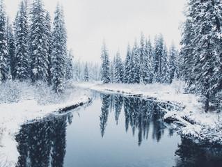 First BIG Snow, Montana Dec.5