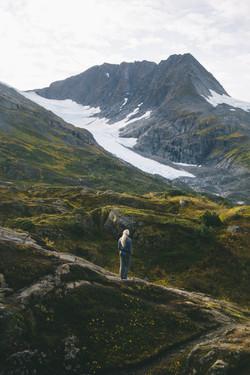 Hiking Portage Pass, Alaska