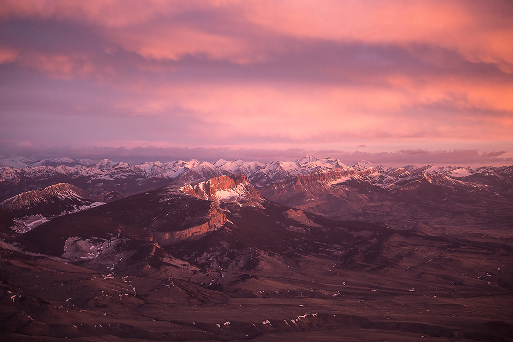Rocky Mountain Front Sunrise, Montana | Montana Adventure Photographer
