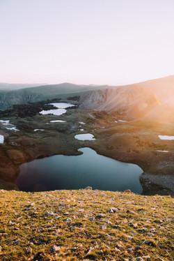 Beartooth Sunrise, Montana