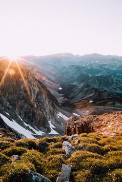 Sunset at 10,000 Ft., Montana