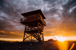 Granite Butte Lookout Sunset