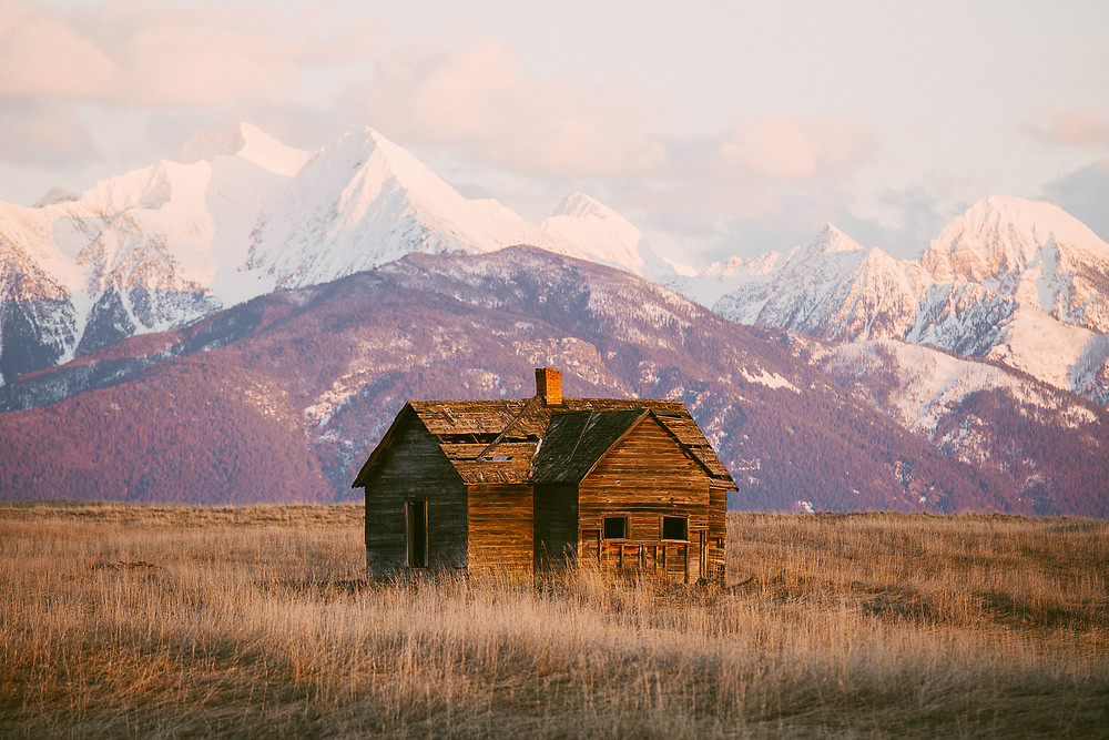 Mission Mountain Sunset, Montana |  Montana Adventure Photographer | Montana Photographer