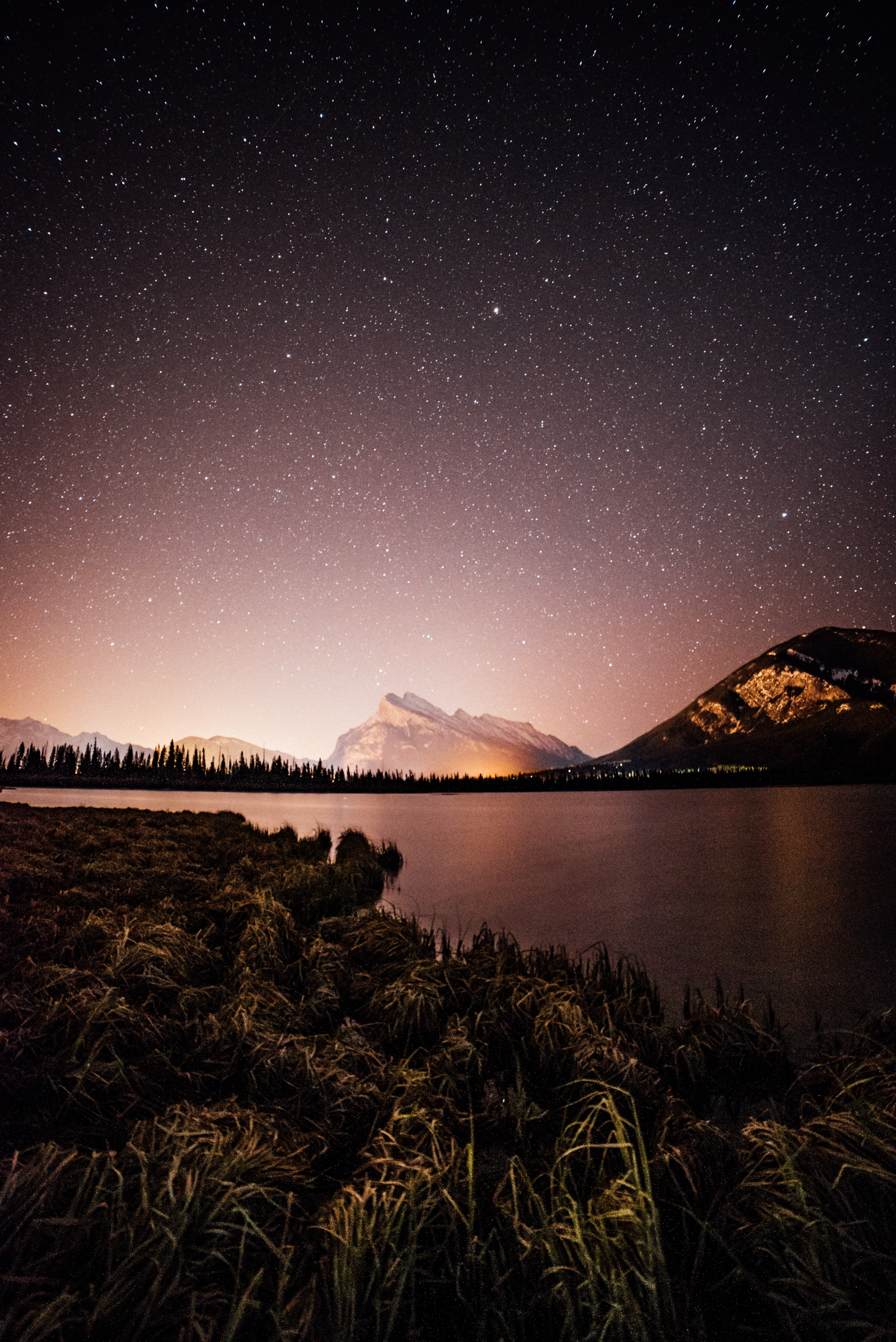 The Stars over Banff, Alberta