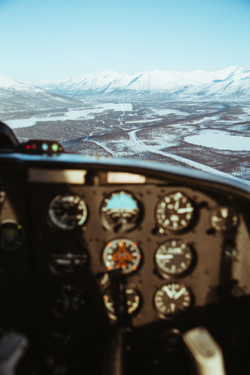 Flying the Arctic Circle- Alaska