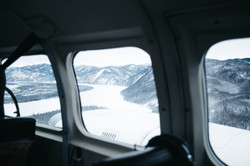 Flying from Eagle Alaska Photographe