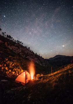 Camping the Big Belts