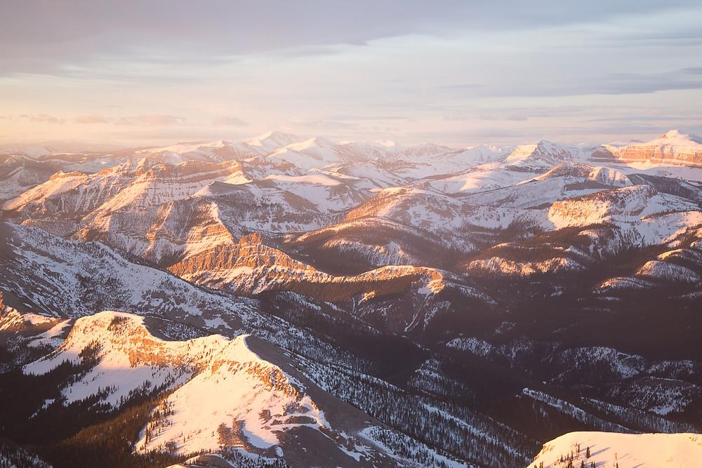 The Bob Marshall Wilderness Sunrise, Montana |  Montana Adventure Photographer | Montana Photographer