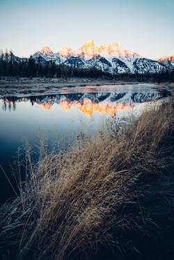 Morning Glow, Wyoming