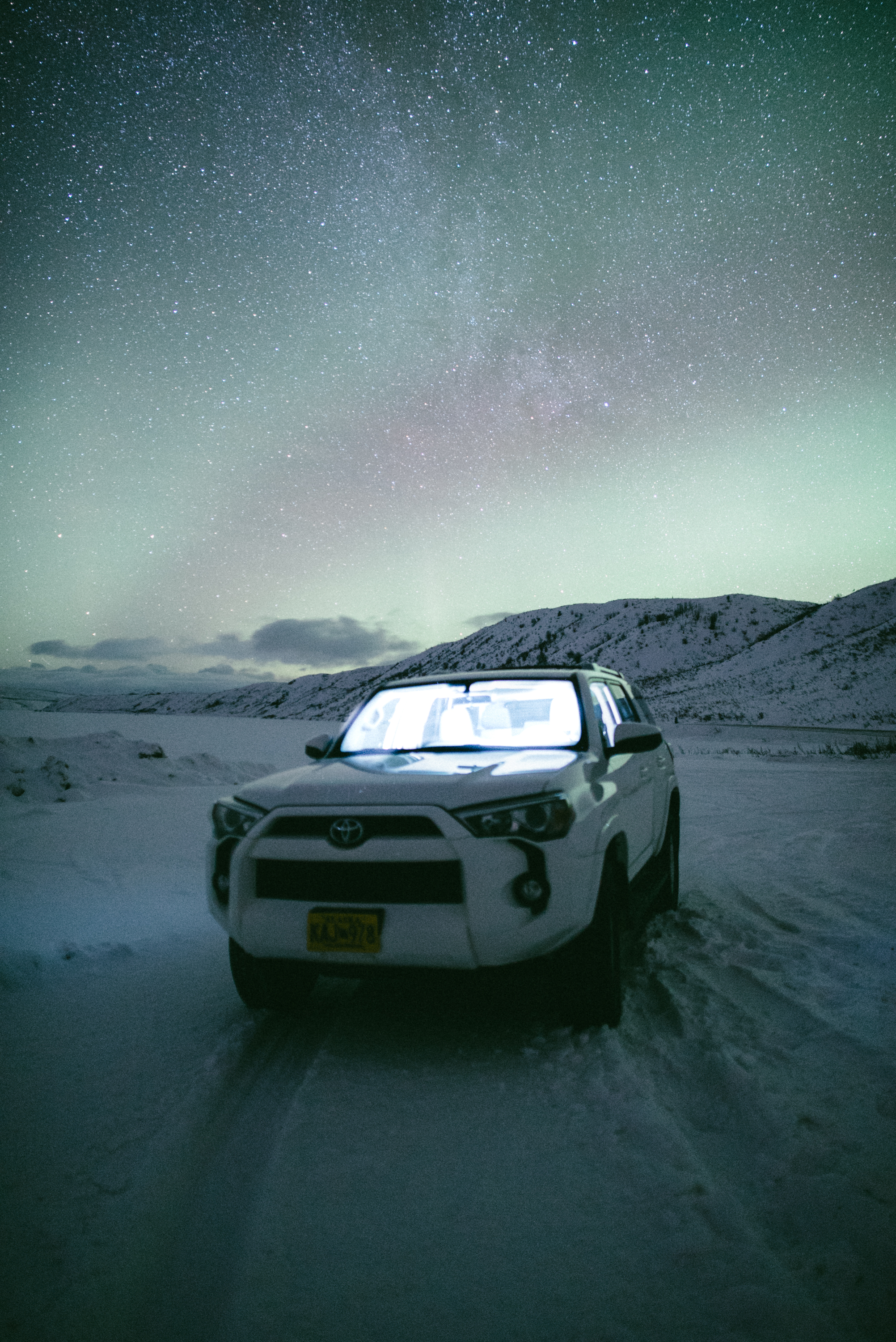 Aurora Vehicle- Alaska Travel Photo