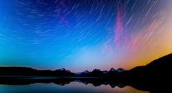 Star Trails, Glacier National Park