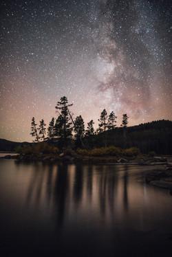 Park Lake Montana Stars