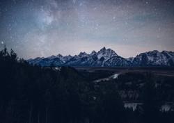 Snake River Stars- Grand Teton