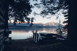 Lake McDonald Cabin- Montana Photo