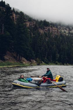 Rafting the Smith River- Montana