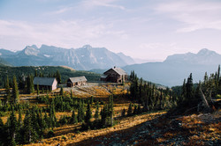 Granite Park Chalet- Montana Photo